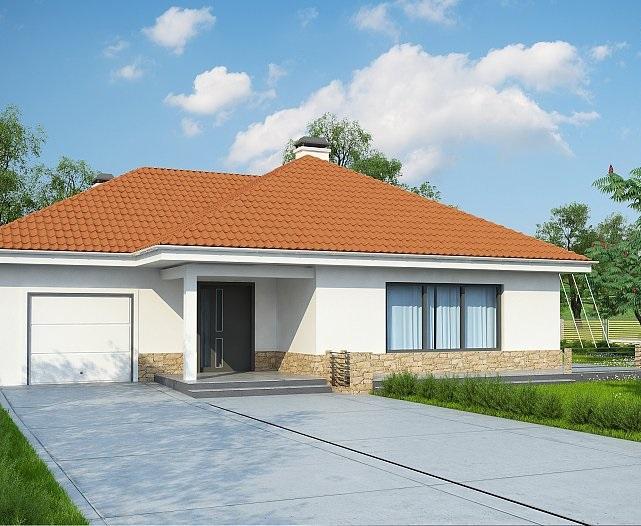 Проект дома из сип панелей 121,9 м2