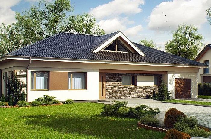 Проект дома из газобетона 195,3 м2