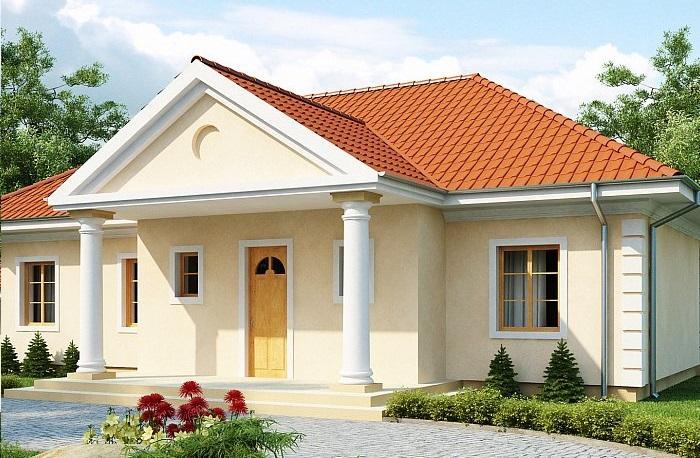 Проект дома из сип панелей 109,1 м2