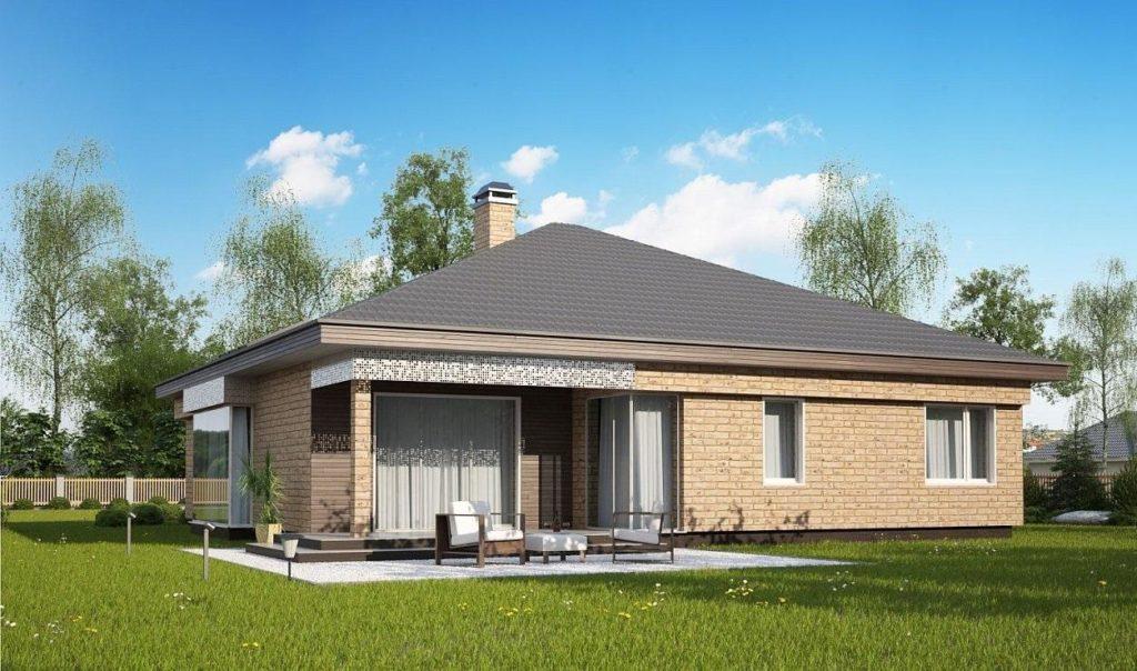 Проект каркасного дома 171,8 м2
