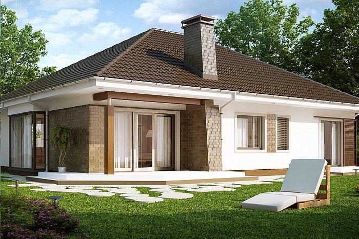 Проект дома из сип панелей 161,4 м2
