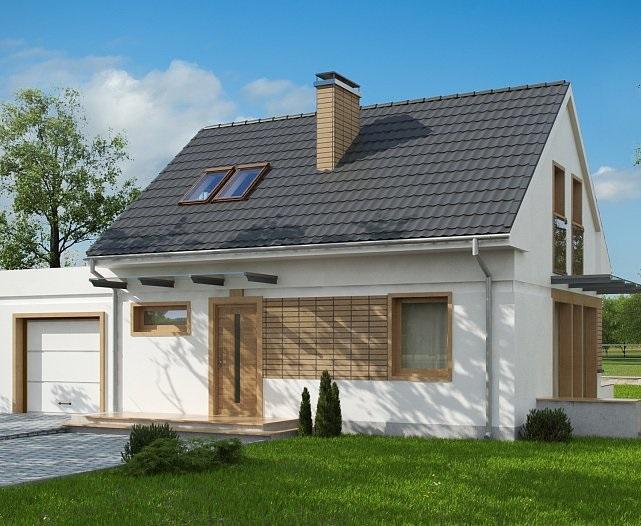 Проект дома из газобетона 118,4 м2