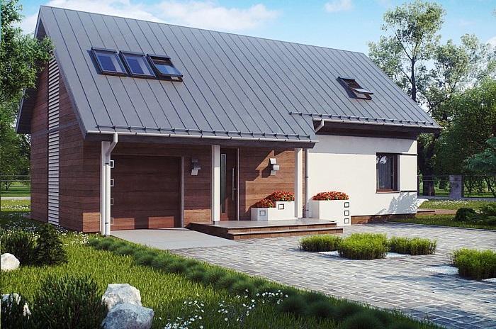 Проект дома из газобетона 148,5 м2