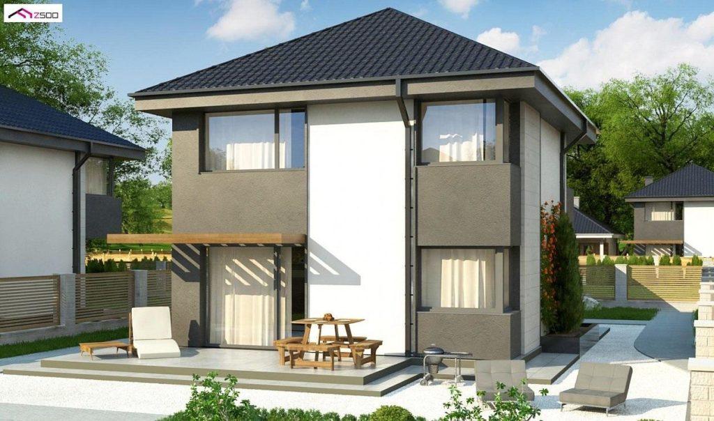 Проект каркасного дома 114,5 м2