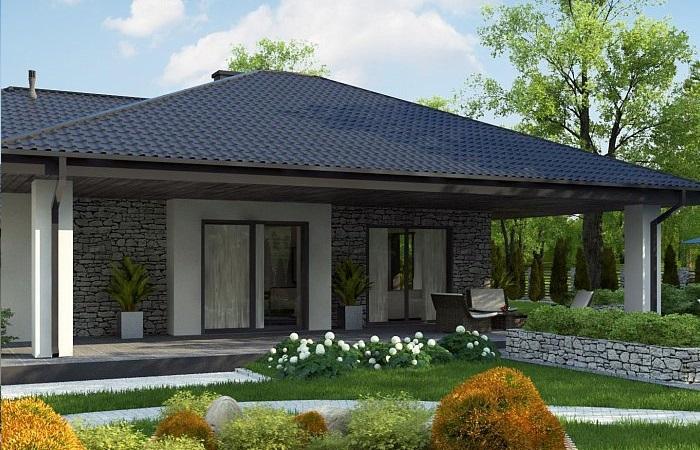 Проект каркасного дома 210,9 м2
