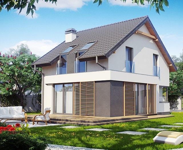Проект дома из ракушечника 109,3 м2
