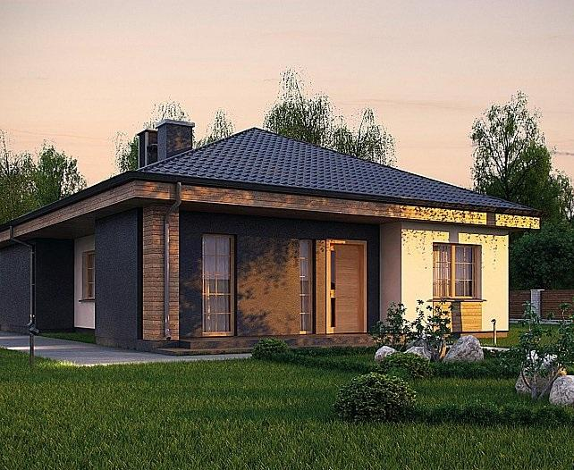 Проект каркасного дома 131,4 м2