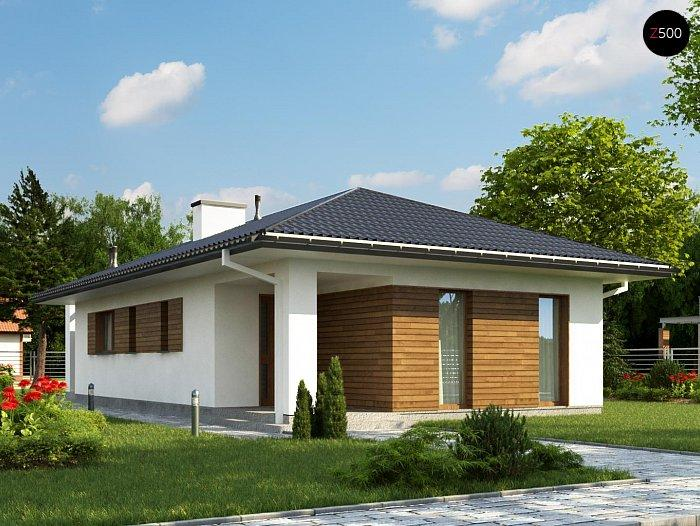Проект каркасного дома 80,7 м2
