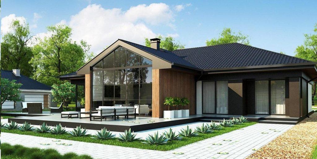 Проект каркасного дома 192,0 м2