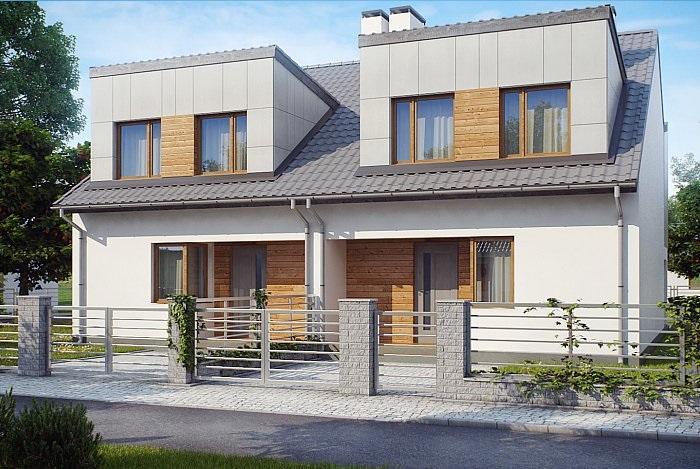 Проект дома из газобетона 117,6 м2
