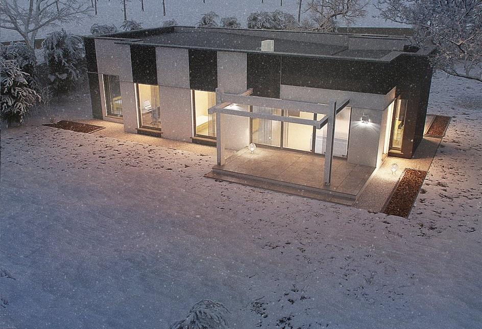 Проект каркасного дома 120,5 м2