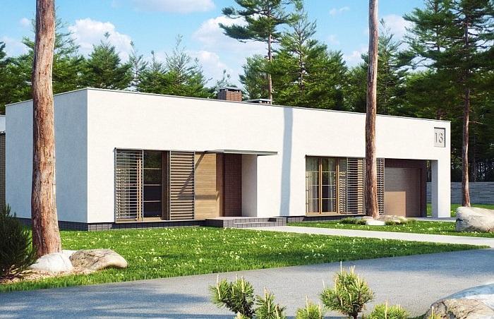 Проект дома из газобетона 155,4 м2