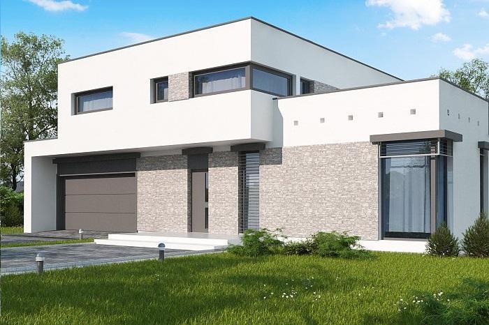 Проект дома из газобетона 270,3 м2