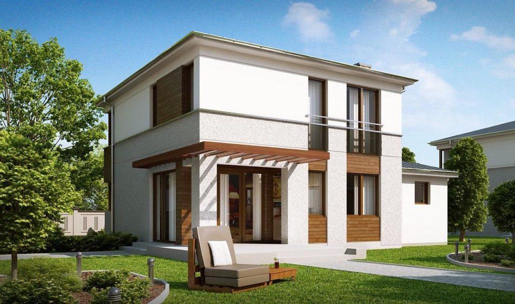 Проект дома из сип панелей 139,0 м2