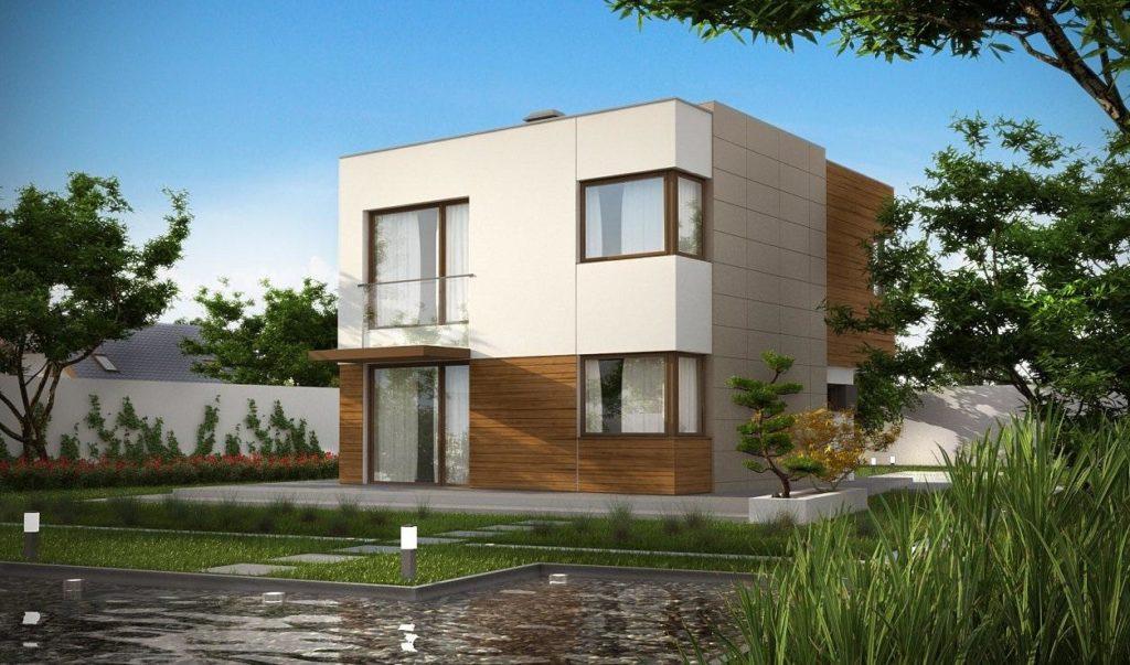 Проект дома из сип панелей 102,0 м2