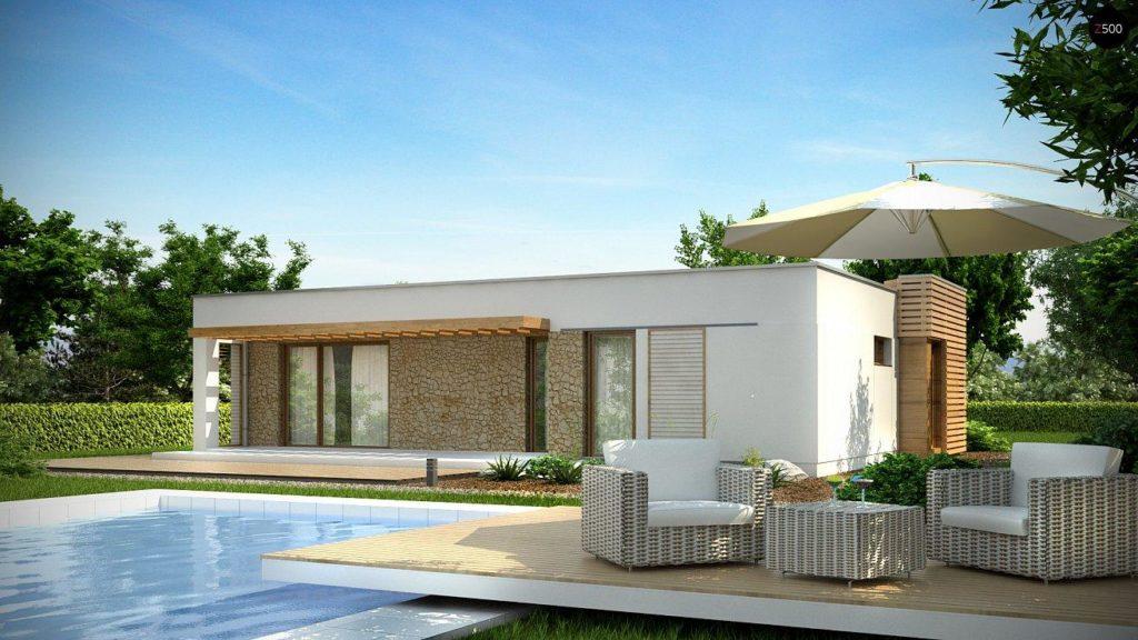 Проект каркасного дома 99,1 м2