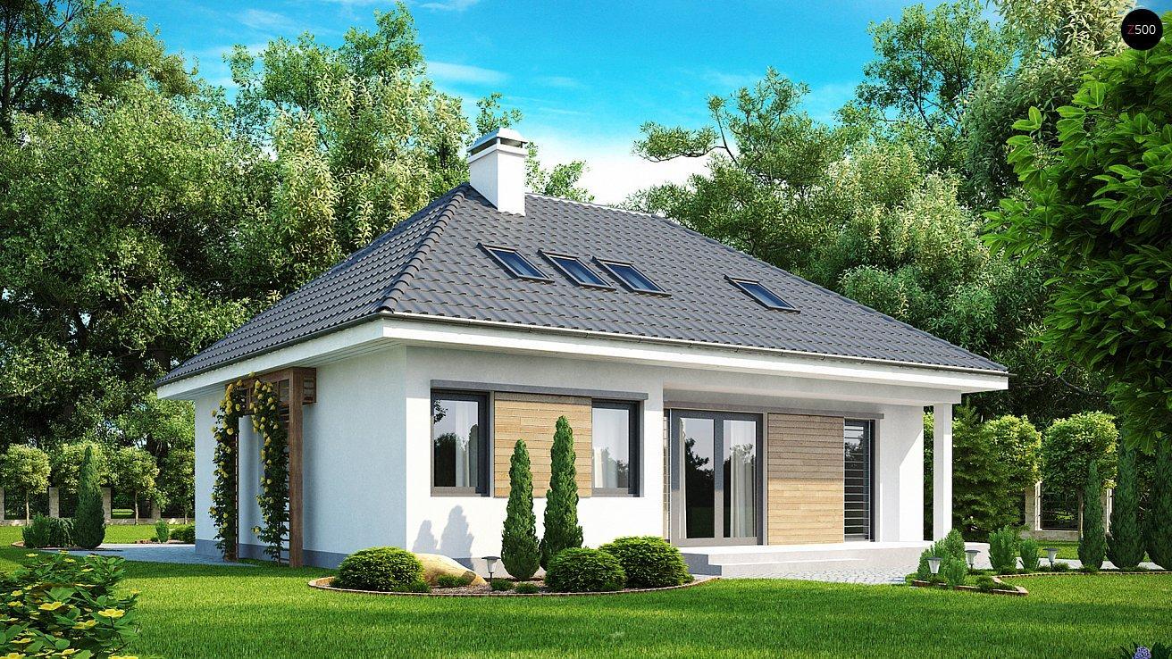 Проект дома из сип панелей 183.6 м2