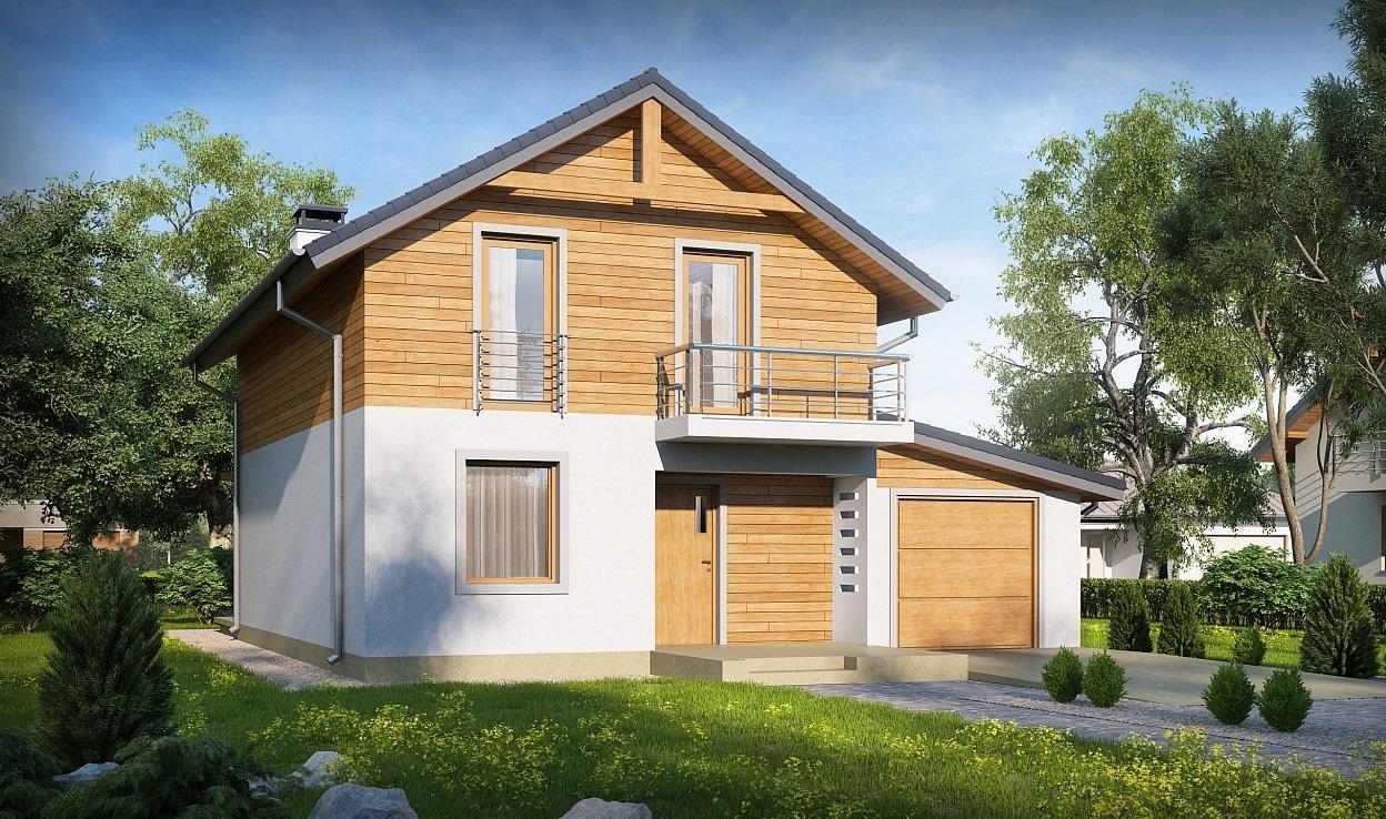 Проект дома из сип панелей 138.9 м2