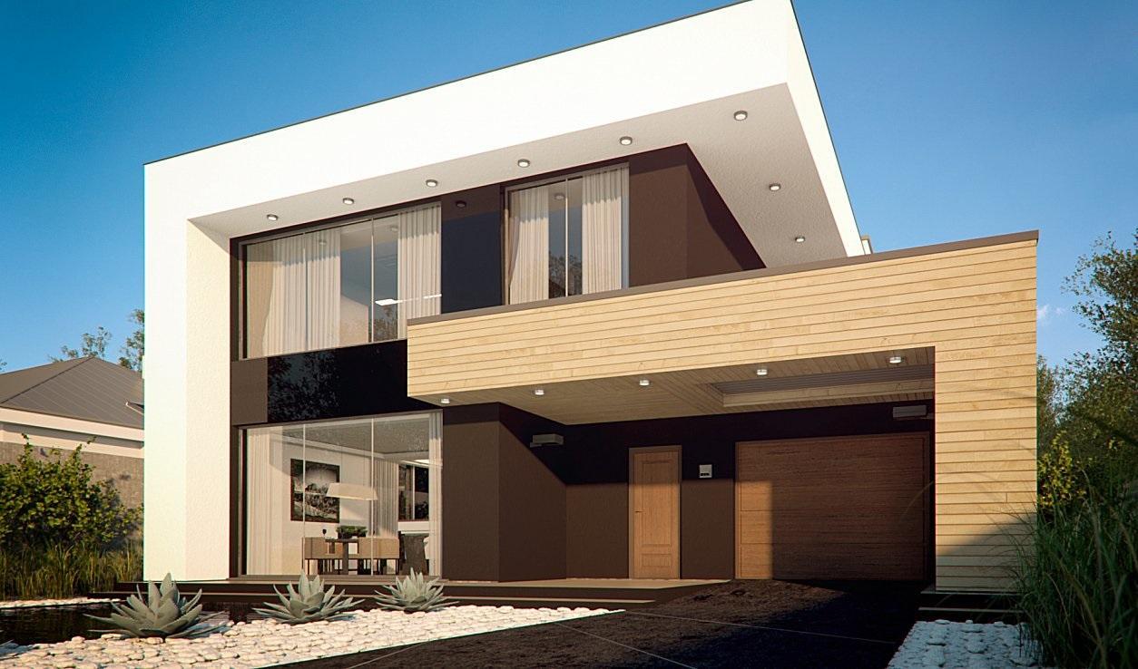 Проект дома из сип панелей 264.5 м2