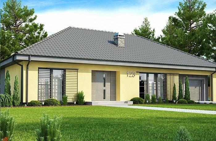 Проект каркасного дома 162,2 м2