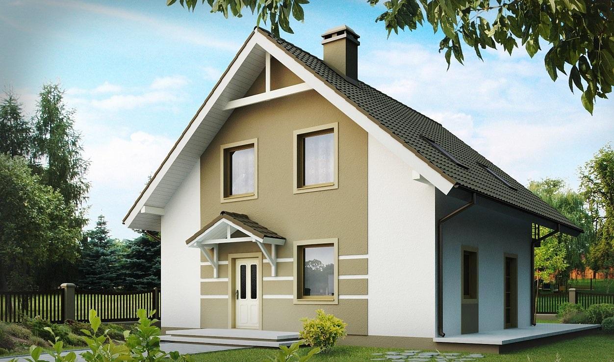 Проект каркасного дома 136,2 м2