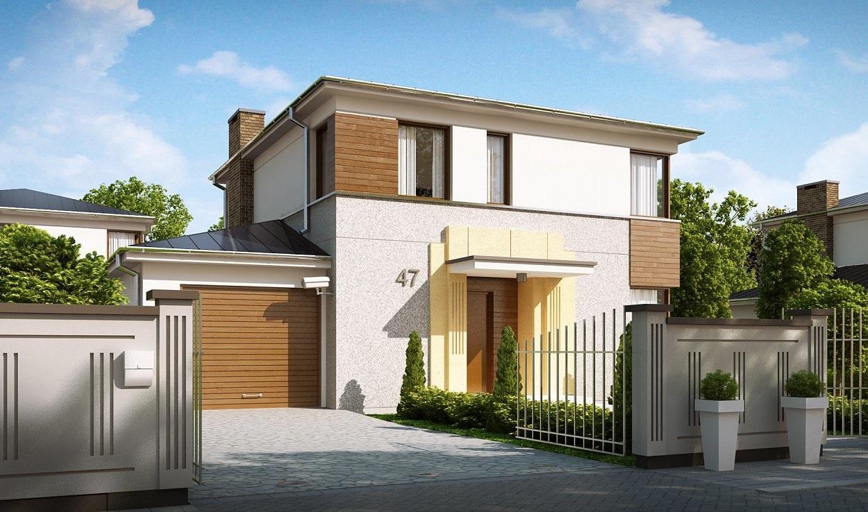 Проект каркасного дома 139,0 м2
