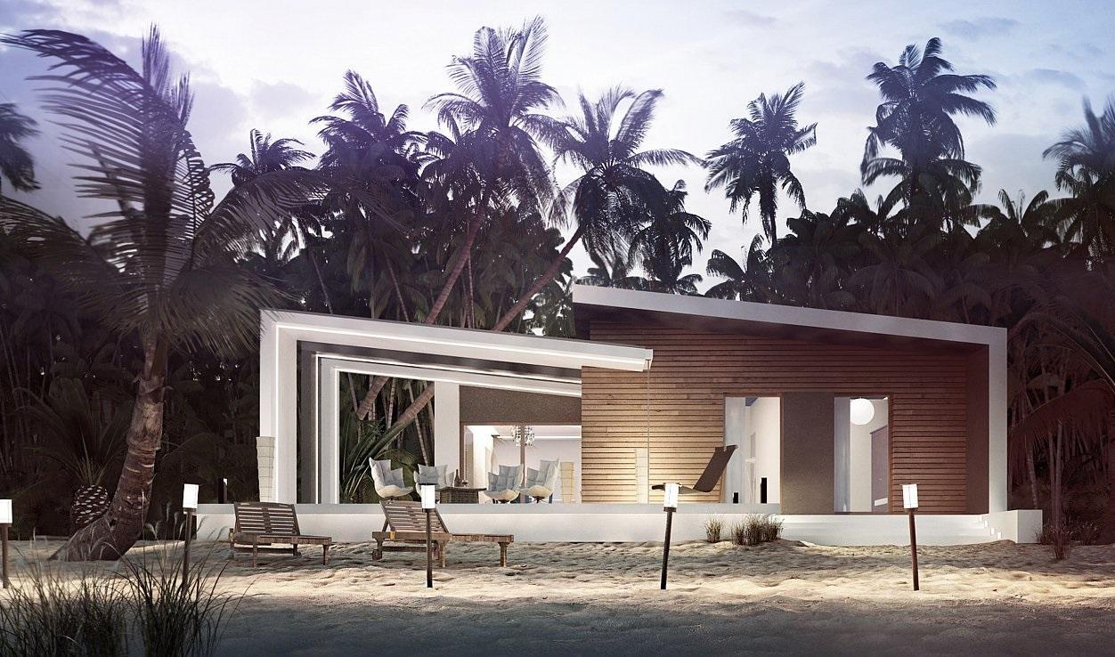 Проект каркасного дома 105,7 м2